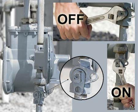 Gas Meter Shut-Off