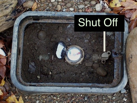 Water Meter Shut-Off