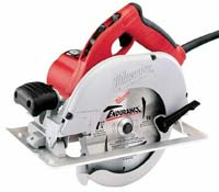 Milwalkee left-blade circular saw