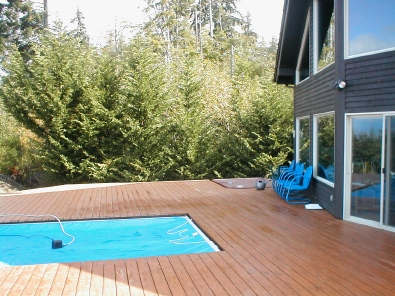 completed decking