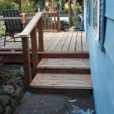Steps and railings