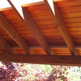 T&G deck ceiling roof