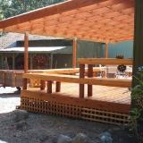 Back deck complete side