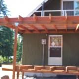 Back deck roof framing