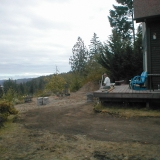 before back deck