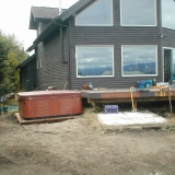 hot tub moved