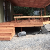 Back deck stairs 2