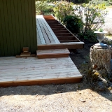 front porch decking