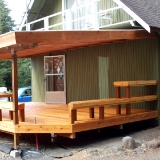 Back deck seating 2