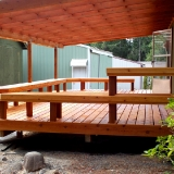 Back deck seating 3