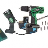 Hitachi 14 volt Cordless Drill Kit