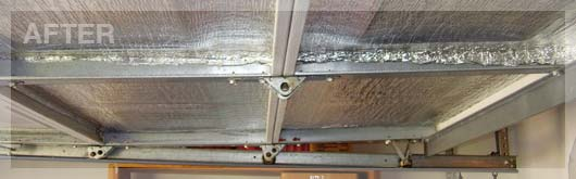 (After) Garage Door Insulation