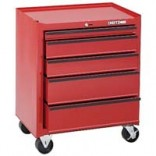 5-Drawer Roller Metal Tool Chest (red)