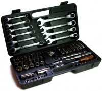 62 Pc Metrinch Socket and Wrench Set